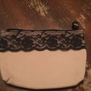Ipsy cosmetic makeup lace bag